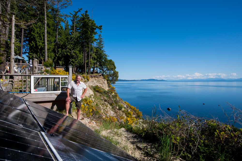 Enviro Electric Solar Savary Island