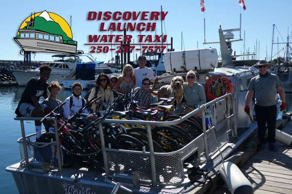 discovery launch water taxi savary island
