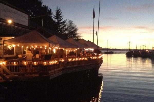 the boardwalk restaurant savary island lund